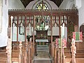 Church of St Michael and All Angels, Braydeston, Norfolk - rood screen - geograph.org.uk - 857811.jpg