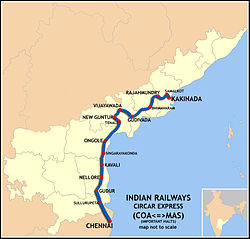 Circar Express Route map.jpg