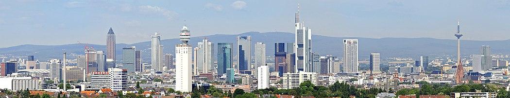 Cityscape Frankfurt 2010-2