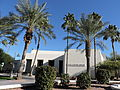 Civic Center Library side view, Old Town Scottsdale AZ.JPG