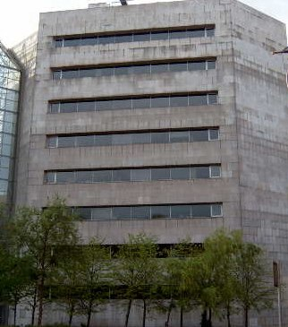 Civic Offices on Wood Quay in Dublin