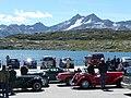 Classic cars (MG) at Grimselpass - panoramio.jpg