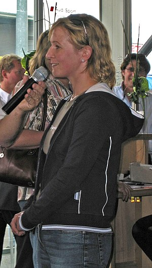 Claudia Pechstein - Image: Claudia Pechstein 2