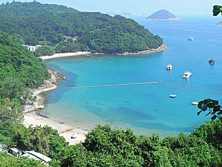 Clear Water Bay Bay in Sai Kung District, Hong Kong