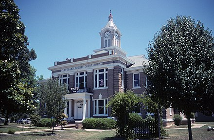 Cleveland County Courthouse in Rison Cleveland County Arkansas Courthouse.jpg