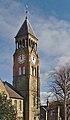 Clock tower of Northfield, West Derby Cemetery 1.jpg