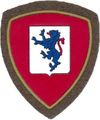 Structure of the Italian Army in 1989 - Image: Co A mil ITA mec bde Brescia