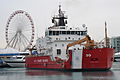 Coast Guard Cutter Mackinaw arrives in Chicago with 1,200 Christmas trees 131206-G-PL299-009.jpg