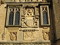 Coat of Arms, Penniless Porch, Wells - geograph.org.uk - 1671909.jpg