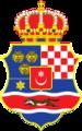 Coat of Arms of the Triune Kingdom of Croatia, Slavonia and Dalmatia 1848-1867.png