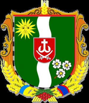 Vinnytsia Raion - Image: Coat of arms of Vinnytskiy Raion