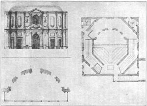 Cockpit-in-Court - Inigo Jones plans for the Cockpit-in-Court