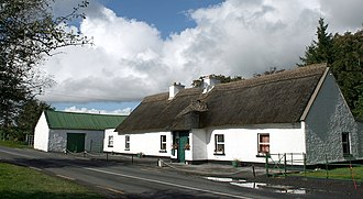 Colehill, County Longford - Colehill on the R399