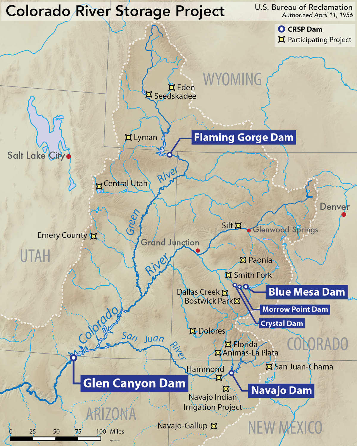 Colorado River Storage Project  Wikipedia
