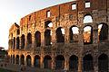 Colosseum at sunset-Rome.JPG