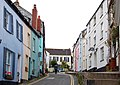 Colourful cottage fronts, Pastow - geograph.org.uk - 1469805.jpg