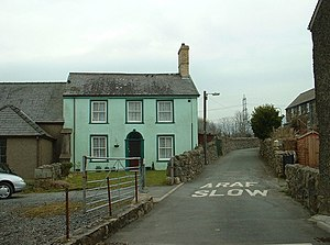 English: Colours of Llanllyfni. I was rather t...