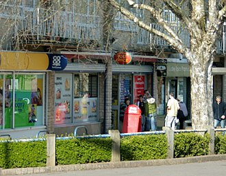 Combe Down - Bradford Road Post Office and store