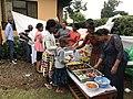 Community event, children taking their lunch.jpg