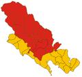 Comunità Montana Val di Vara-mappa 2009.png