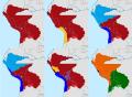 Confederacion Perú Boliviana cronologia.png