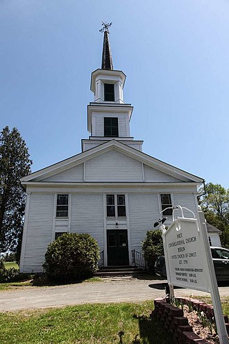 Berlin, Vermont - Image: Congregational Church Berlin Vermont