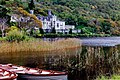 Connemara - Kylemore Lough and Abbey - geograph.org.uk - 1630200.jpg