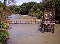 Construção da ponte sobre o Rio São Francisco Pirajuba MG - 01 - panoramio.jpg