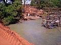 Construção da ponte sobre o Rio São Francisco Pirajuba MG - 03 - panoramio.jpg