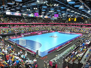 Handball at the 2012 Summer Olympics - The Copper Box staged the preliminary matches.
