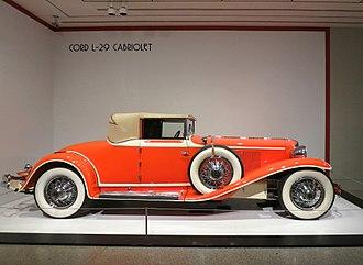 Cord (automobile) - Cord L-29 Cabriolet