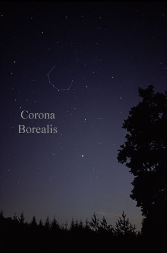 Alpha Coronae Borealis - α Coronae Borealis is the brightest star in the constellation Corona Borealis