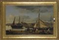 Corot - Les Quais marchands de Rouen ou L'Avant-port de Rouen, 1834.png