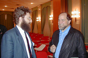 Ron Rivest - Rivest (right) in March 1999.
