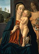 Cosimo Rosselli - Virgin and Child with an Angel - 64.2077 - Museum of Fine Arts.jpg
