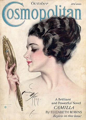 Harrison Fisher - Image: Cosmopolitan FC October 1917