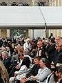 Costa Gavras, Hugues Aufray et Rachid Ferrache obsèques Belmondo.jpg