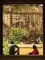 Couple in Doorway - Kumbakonam - India.JPG