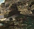 Courbet - Felsige Landschaft mit Rehen, 2599.jpg