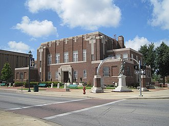 Craighead County Courthouse (Arkansas) - Image: Court house Jonesboro AR 2012 08 26 005