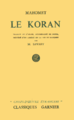 Cover of Le Koran by Savary.png
