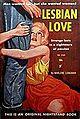 Cover of Lesbian Love by Marlene Longman - Illustrator McCauley - Nightstand NB 1523 1960.jpg