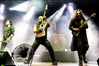 Cradle of Filth English metal band