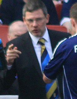 Craig Levein Scottish association football player and manager
