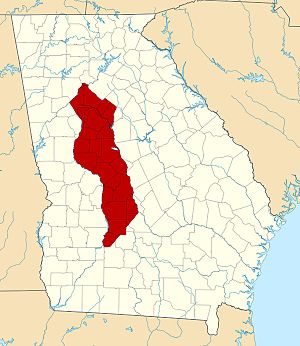 Treaty of Indian Springs (1821) - Muscogee cessions under the treaty