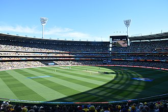 2015 Cricket World Cup Final - Image: Cricket World Cup Final (16766603507)