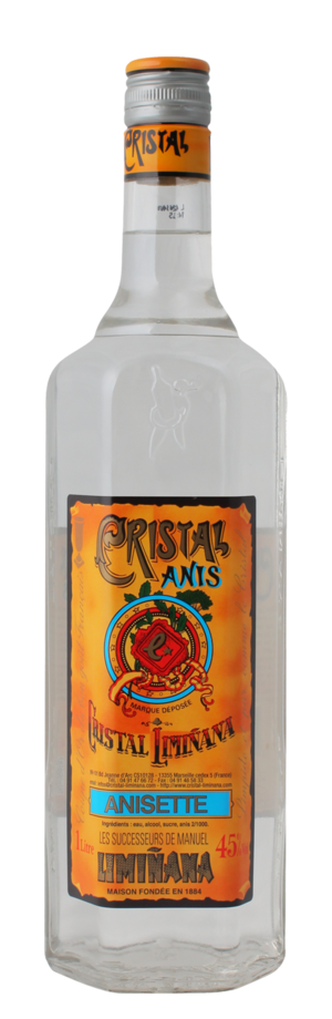 Anisette - Image: Cristal anis boisson made in marseille made in france jpg