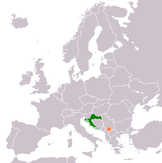 Diplomatic relations between the Republic of Croatia and Kosovo