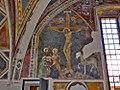 Crocifissione (ignoto autore del '300, dettaglio della cappella Manassei, chiesa di San Salvatore Terni).jpg