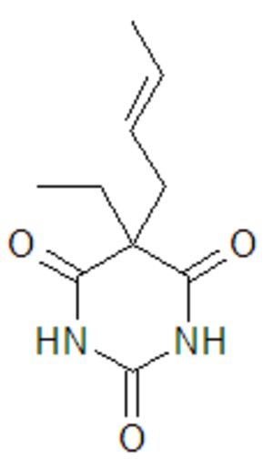 Crotylbarbital - Image: Crotarbital